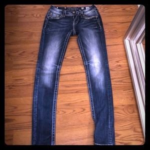 Miss me jeans from Buckle. 26 skinny Inseam 33